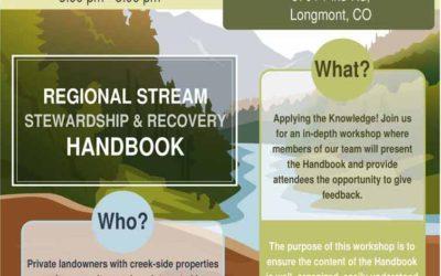 Stream Stewardship Handbook Workshop #3
