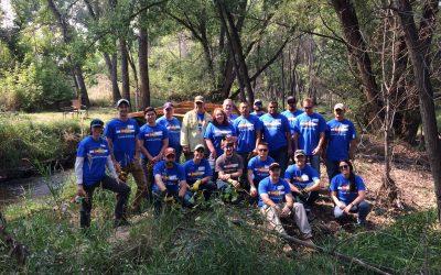 Volunteer Event held with Mirco Motion