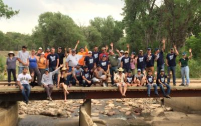 Volunteer Event held with Garney Construction and Left Hand Water District